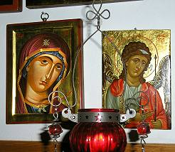 showroom for handmade byzantine icons